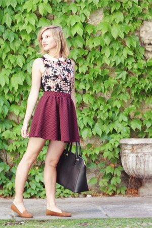 black-sisley-bag-camel-suede-h-m-flats-maroon-bershka-skirt.jpg
