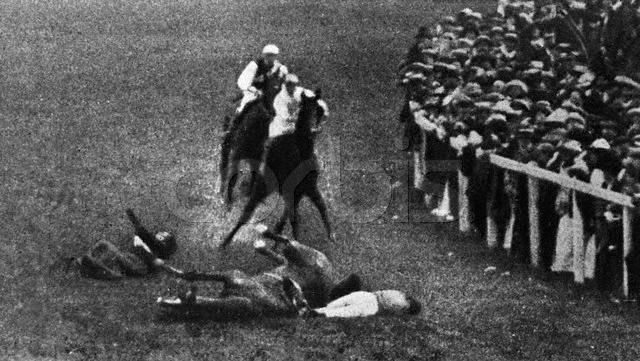 Suffragette Emily Davison dies after running in front of ___.jpg